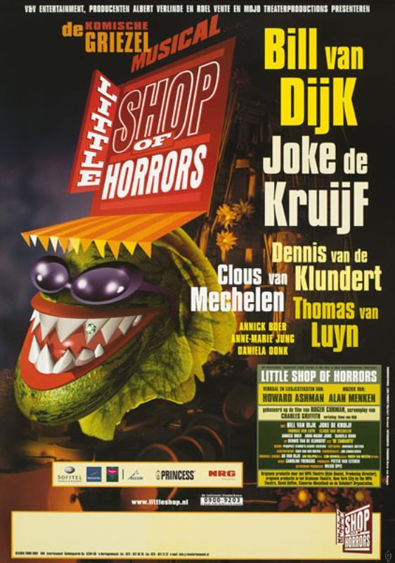 affiche_little_shop_of_horrors_-_albert_verlinde_entertainment_b-v-_-_2000-11-06